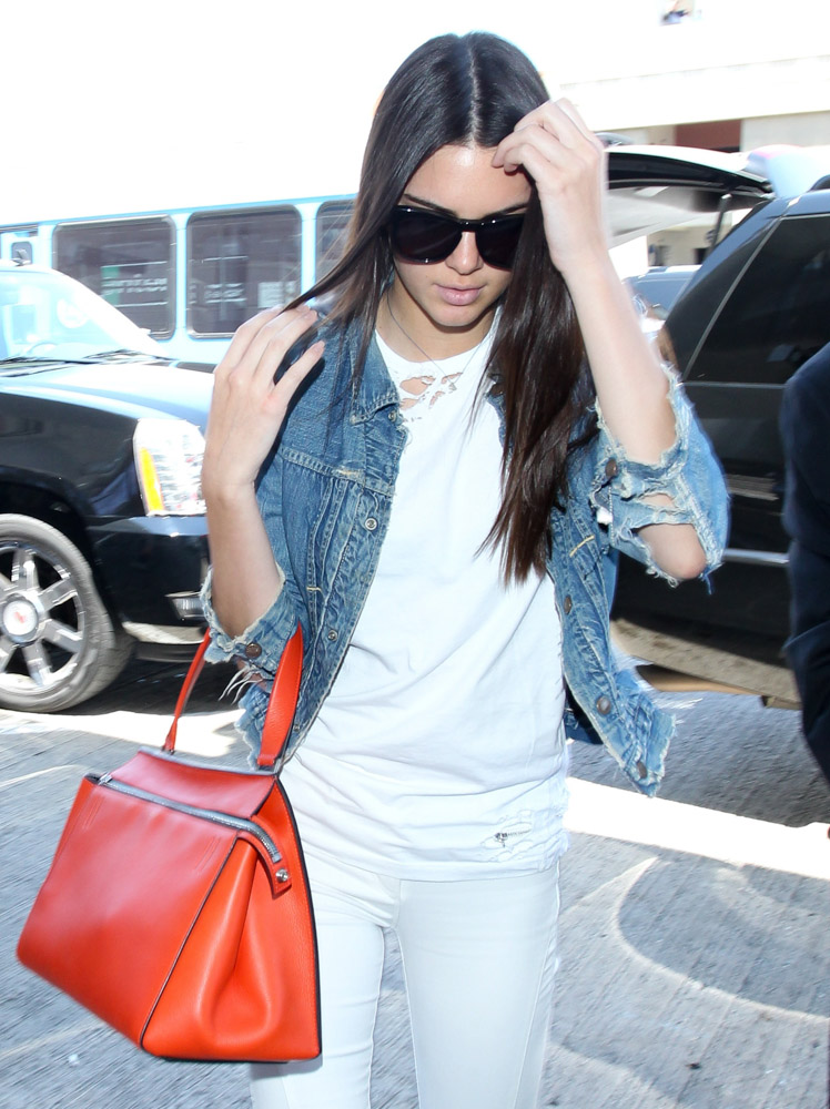 The Many Bags of Celebrities at LAX-46
