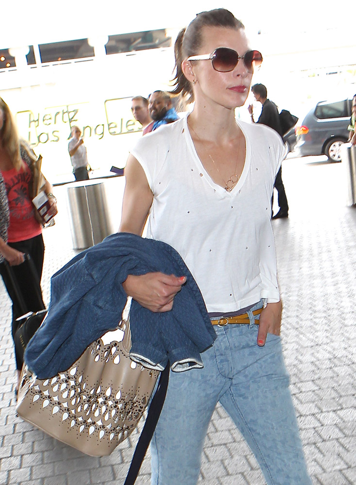 The Many Bags of Celebrities at LAX-47