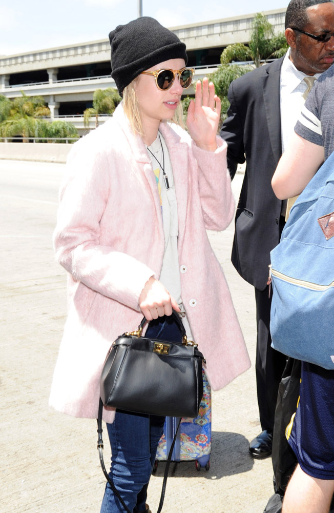 The Many Bags of Celebrities at LAX-5
