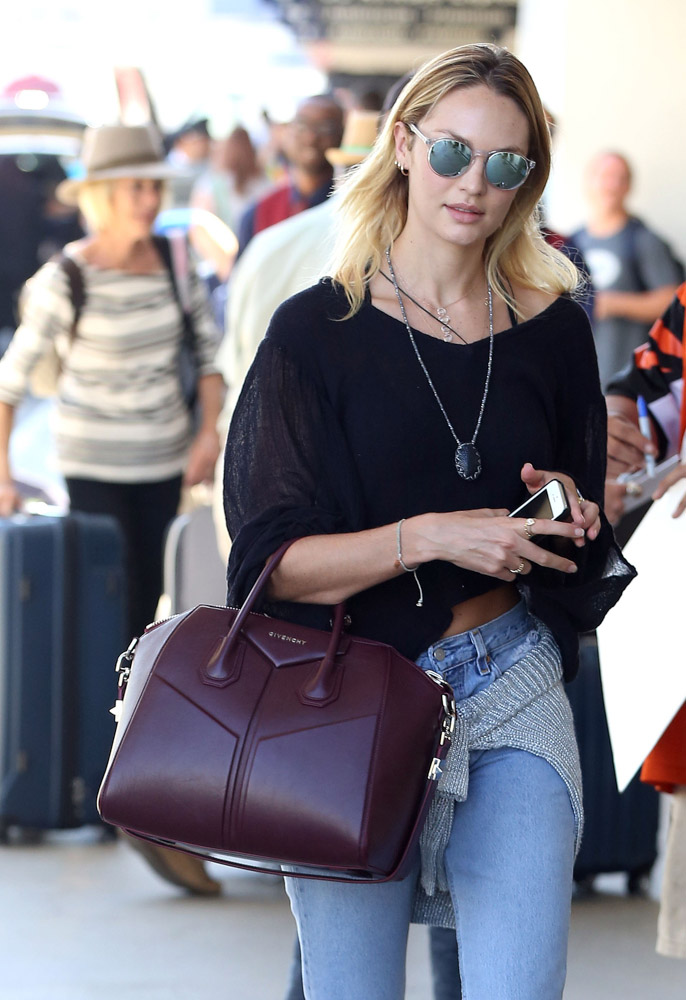 The Many Bags of Celebrities at LAX-50