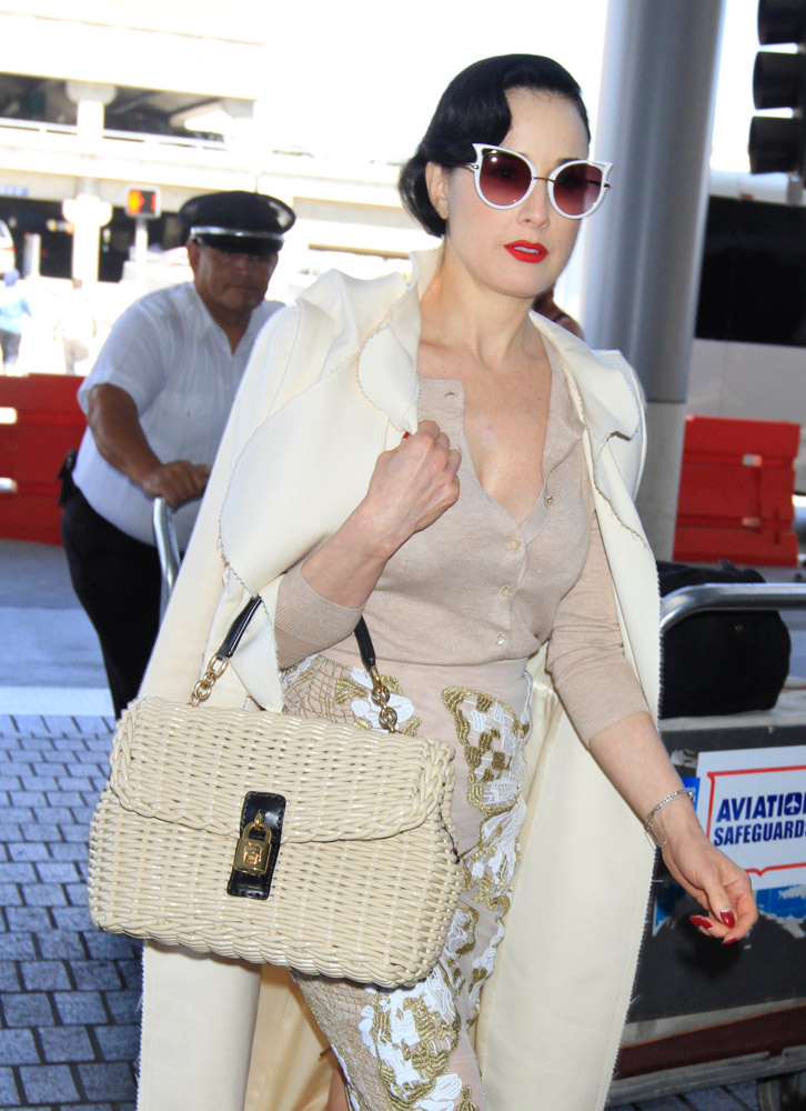 The Many Bags of Celebrities at LAX-8