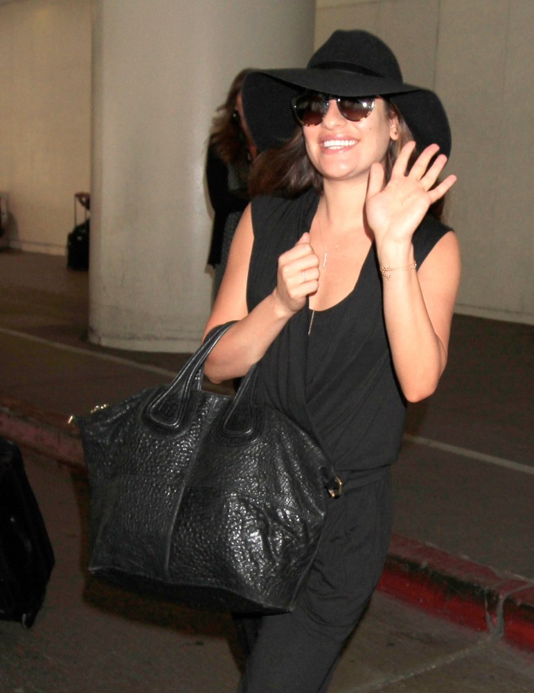 The Many Bags of Celebrities at LAX-9
