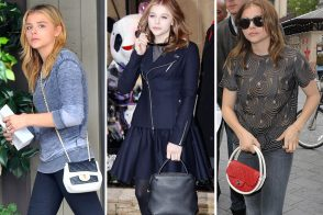 The Many Bags of Chloe Moretz