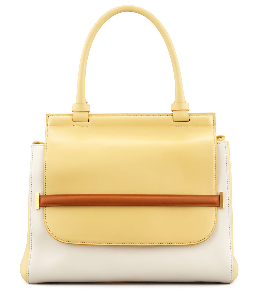 The Row Colorblock Top Handle Bag