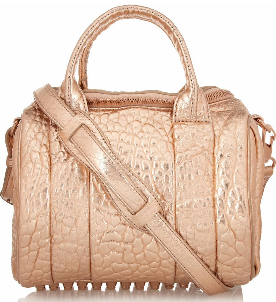 Alexander Wang Metallic Rockie Bag