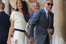 Amal Alamuddin Carries Stella McCartney During Her Wedding Festivities with George Clooney