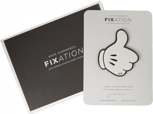 Anya Hindmarch Fixation Leather Stickers