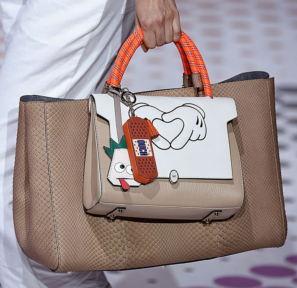 Anya Hindmarch Hits It Out Of The Park With Her Spring