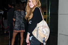 Bella Thorne Proves the Chanel Graffiti Backpack May Never Be Stopped