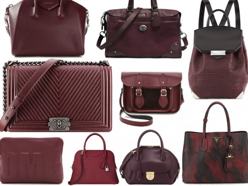 Best Burgundy Bags for Fall 2014