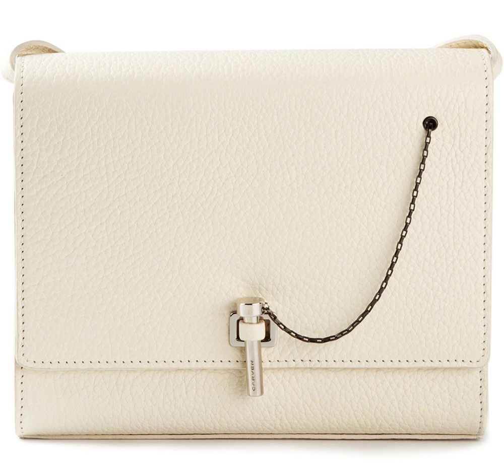 Carven Grained Shoulder Bag