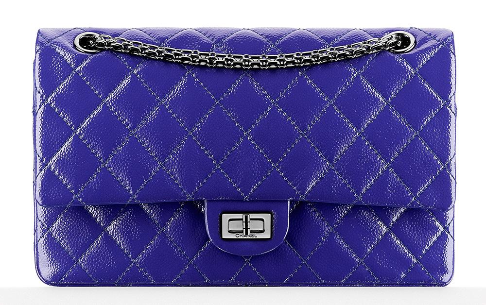 Chanel 2.55 Reissue Flap Bag Blue 5500