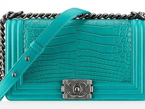 Chanel Alligator Boy Bag
