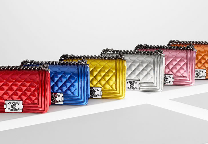 Chanel Boys Bags Rainbow