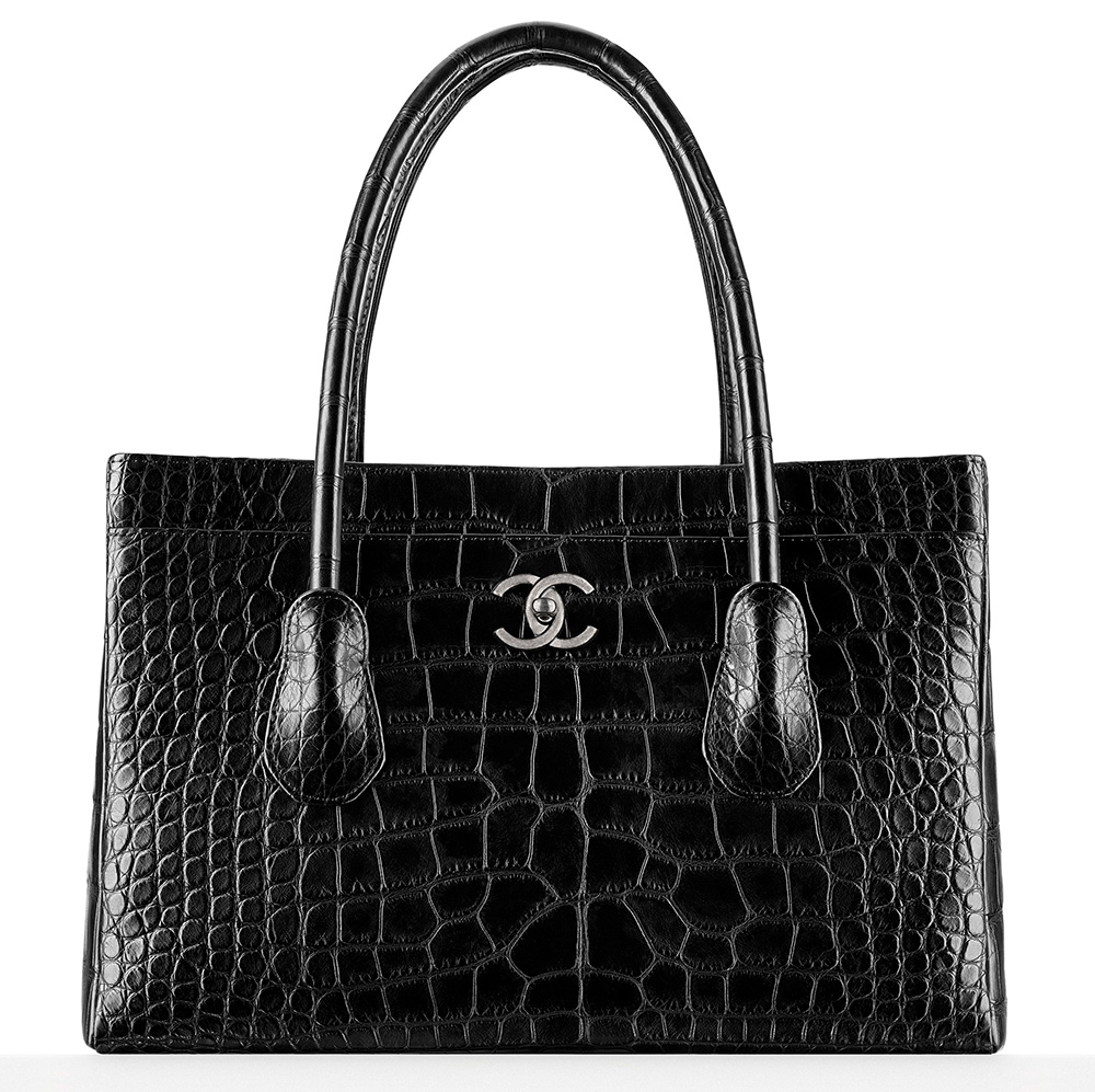Chanel Large Alligator Shopping Tote