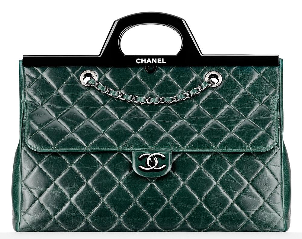 Chanel Rigid Handle Shopping Bag 5200