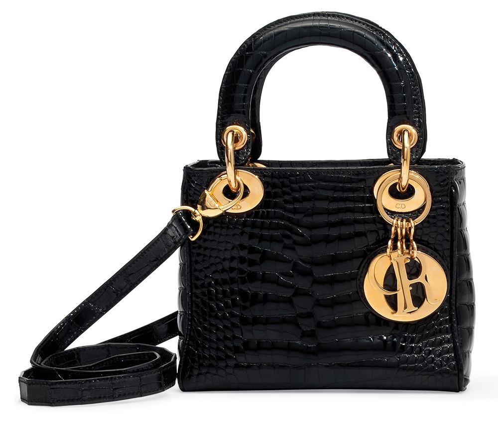 Christian Dior Crocodile Lady Dior bag