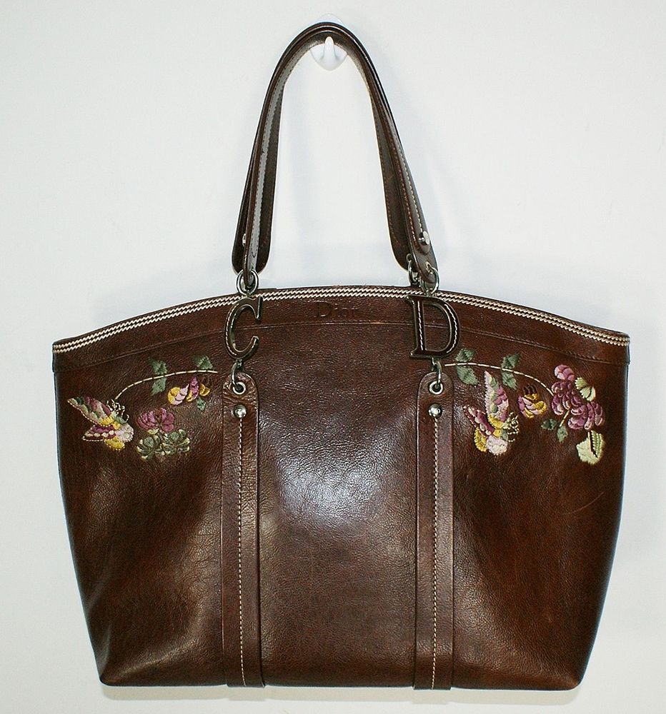 Christian Dior Romantic Flowers Tote