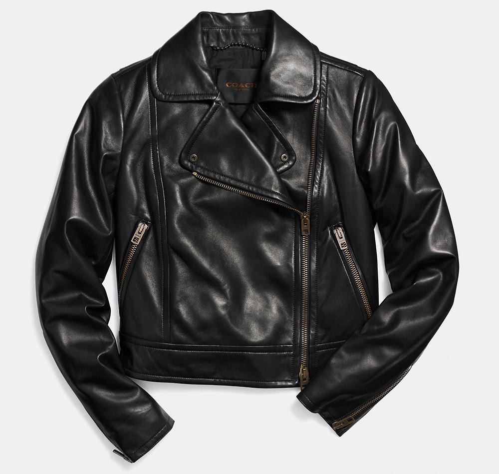 Coach Moto Leather Jacket