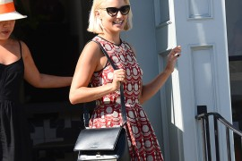 Dianna Agron Debuts a New 'Do and a Givenchy Bag