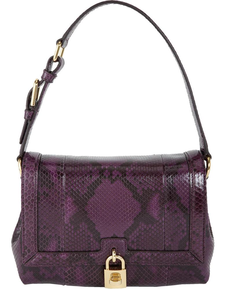 Dolce & Gabbana Python Miss Dolce Bag