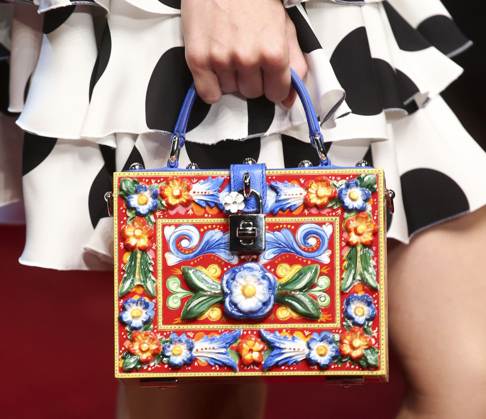 Dolce   Gabbana s Spain-Inspired Spring 2015 Bags Include Doll Cases ... dcefbce192fee