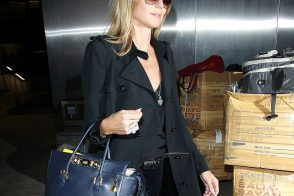 Heidi Klum Chooses Versace for Her Travel Needs