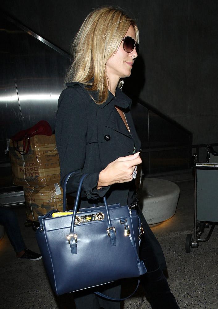 Heidi Klum Versace Signature Tote-4