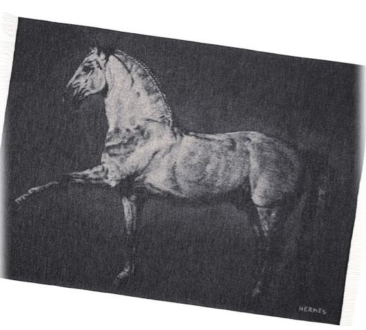 Hermes Cheval Lusitanien Blanket