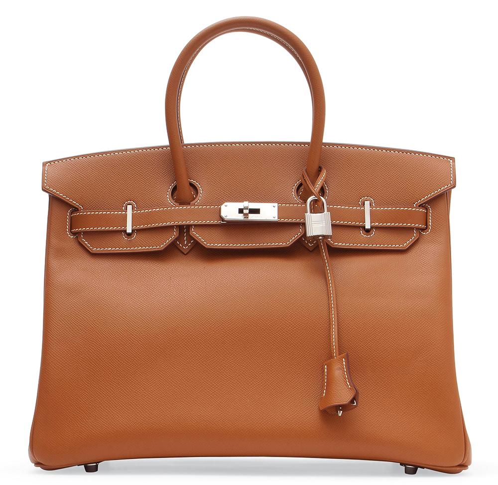 Hermes Gold Leather Birkin