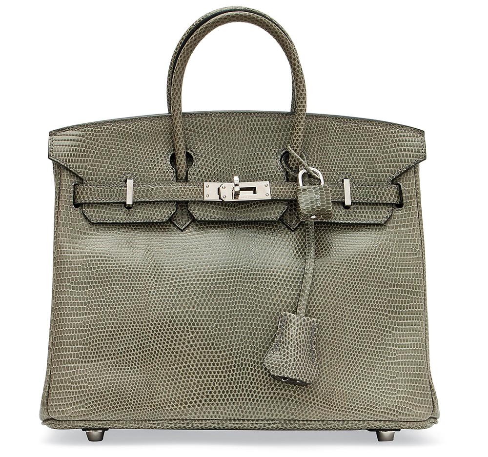 Hermes Lizard Birkin Bag