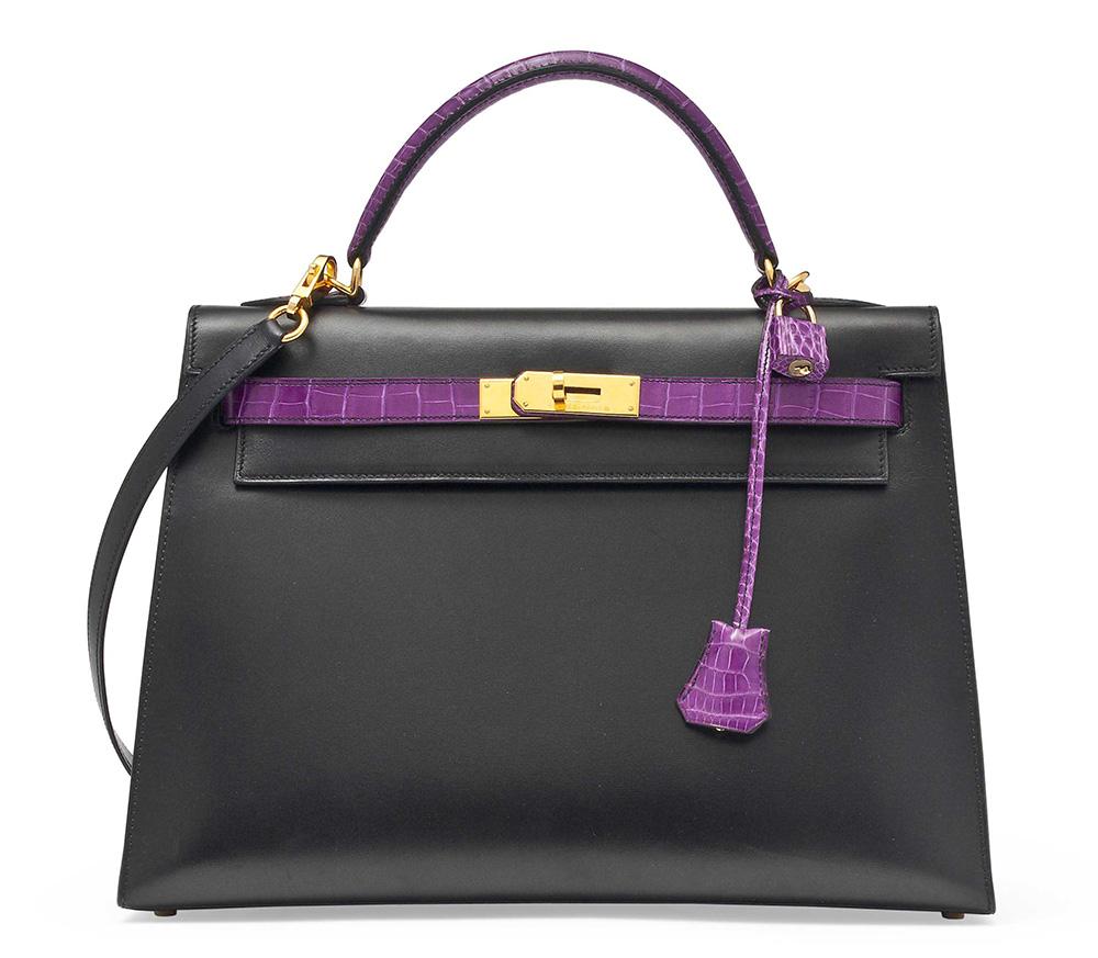 Hermes Special Order Bicolor Kelly Bag