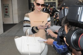 Iggy Azalea Greets Her London Fans with a Céline Bag