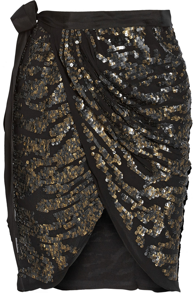 Isabel Marant Felmira Sequined Skirt