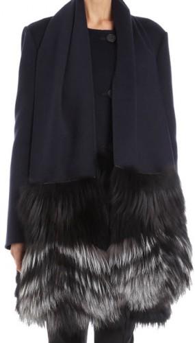 J. Mendel Fur Pocket Scarf