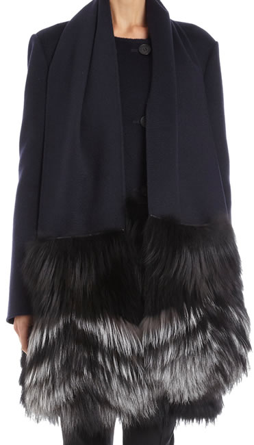 J. Mendel Fur Pocket Scarf
