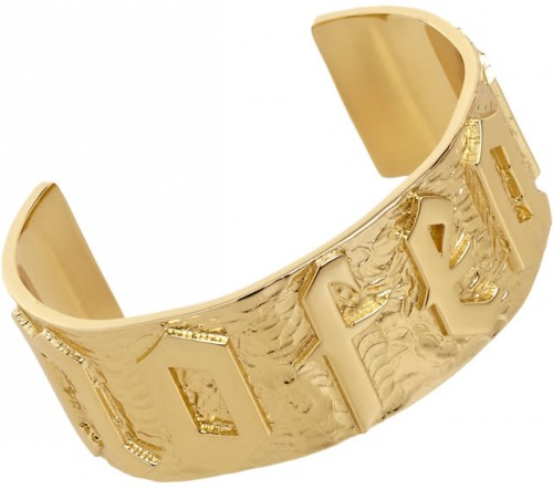 Jennifer Fisher Gold No Fear Cuff