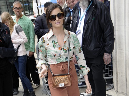 Kacey Musgraves Chanel Boy Bag