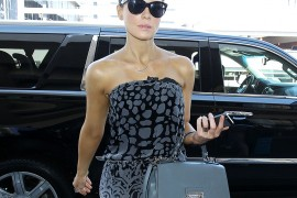 Kate Beckinsale Travels Like a Movie Star With a Dolce & Gabbana Bag