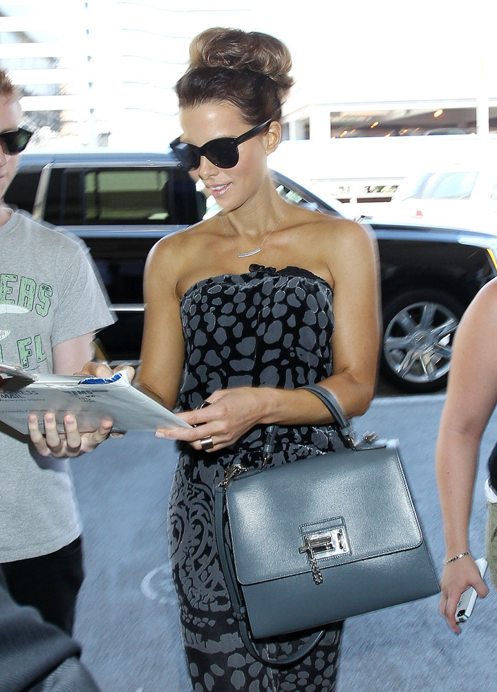 Kate Beckinsale Dolce & Gabbana Monica Satchel-3