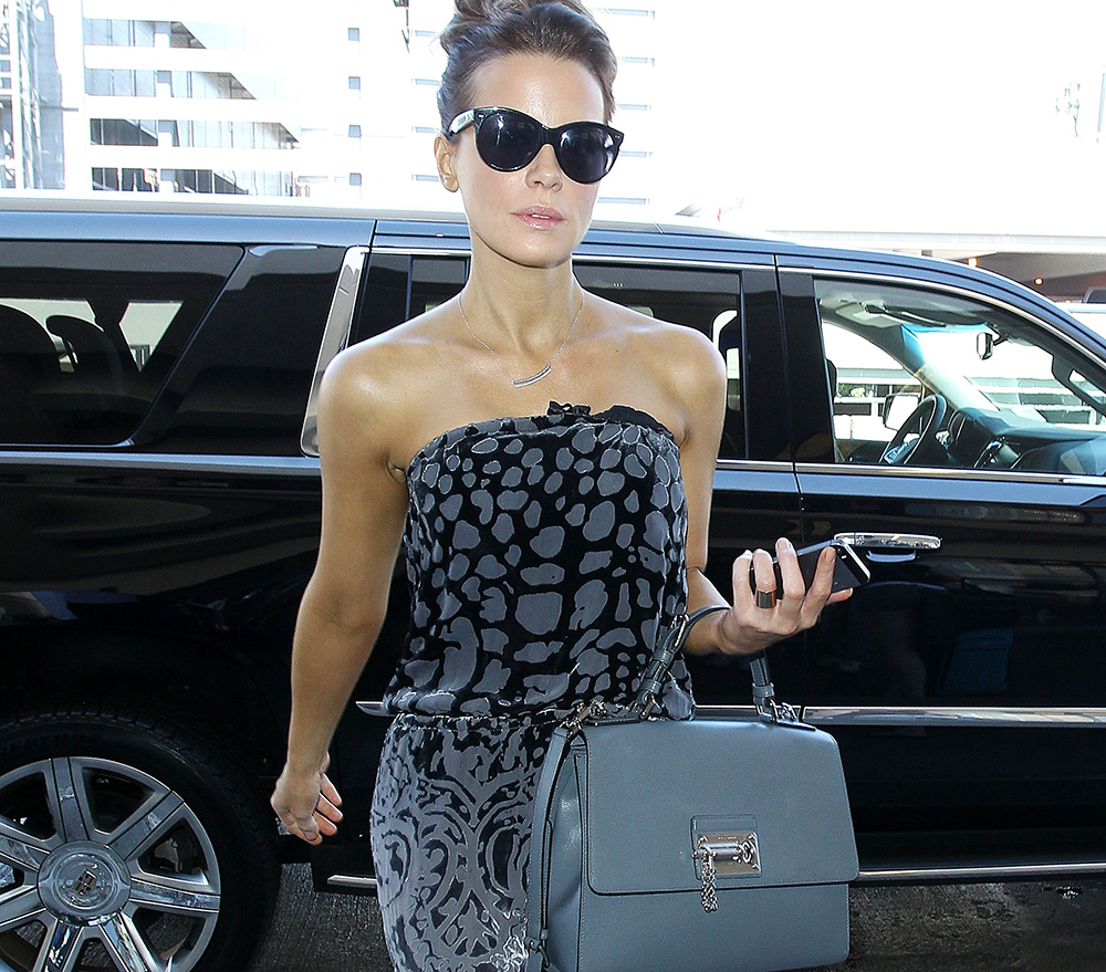 Kate Beckinsale Travels Like A Movie Star With A Dolce