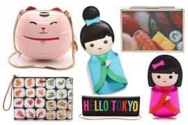 Kate Spade Mines Asian Imagery for Its Fall 2014 Accessories