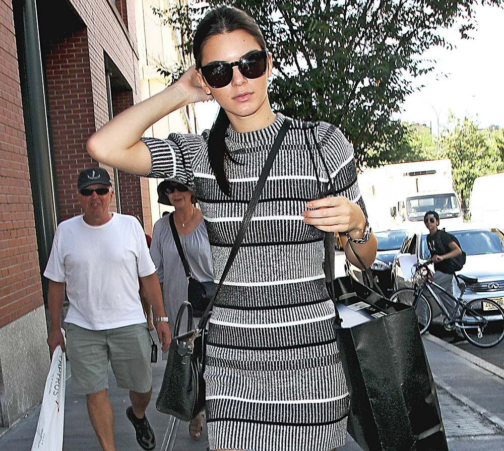 celine shoulder bag price - Kendall Jenner Celebrates the Start of NYFW with a Trip to Barneys ...