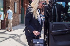 Kirsten Dunst Carries a Very Fancy Ferragamo Bag