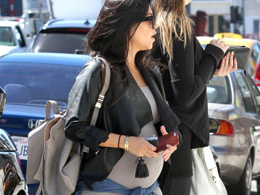 Kourtney Kardashian Proenza Schouler PS1 Backpack