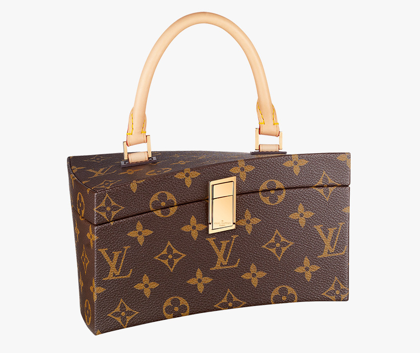 Louis Vuitton Frank Gehry Twisted Box Bag Front