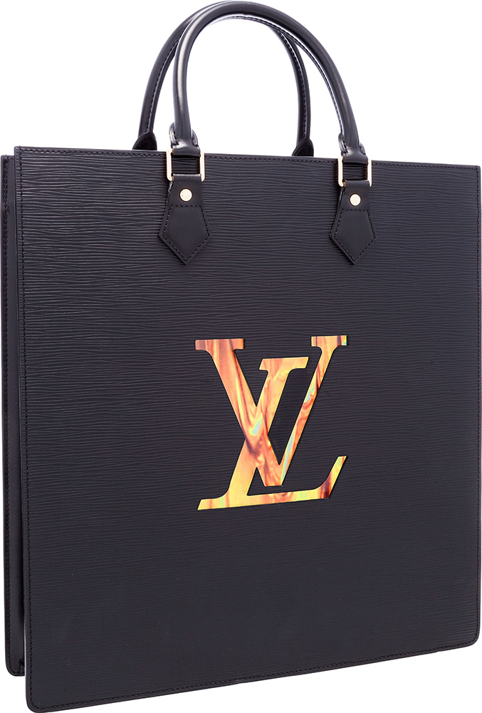 Louis Vuitton Limited Edition Black Epi Leather Sac Fusion Bag with LCD  Screen by Fabrizio Plessi