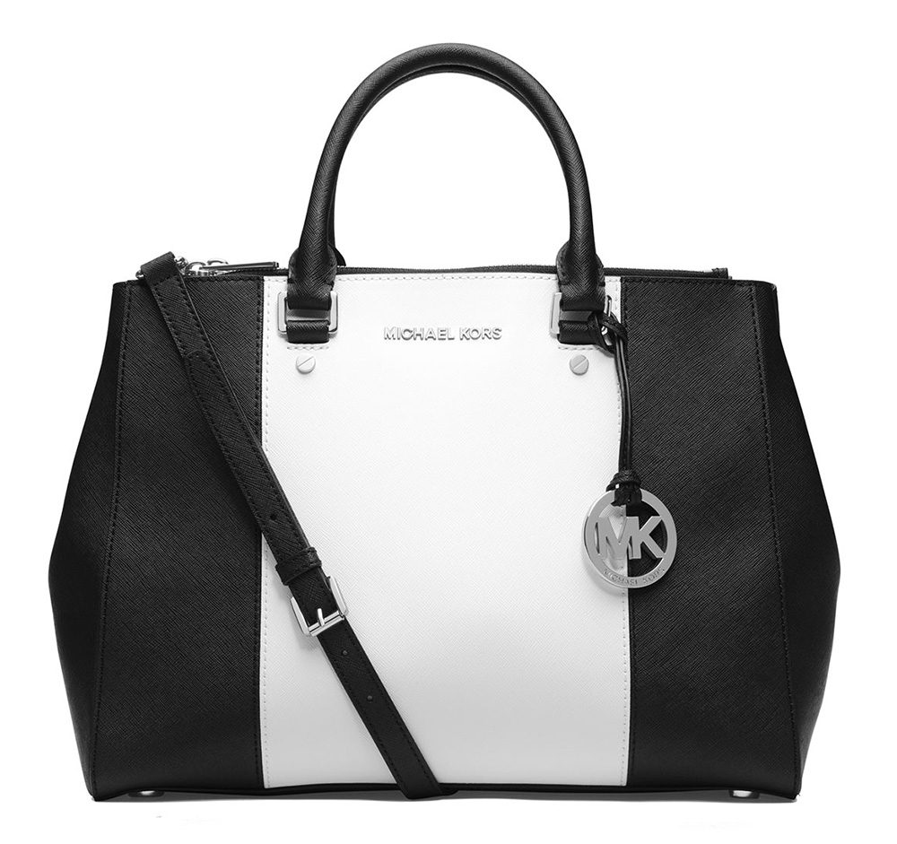 MICHAEL Michael Kors Sutton Center Stripe Tote
