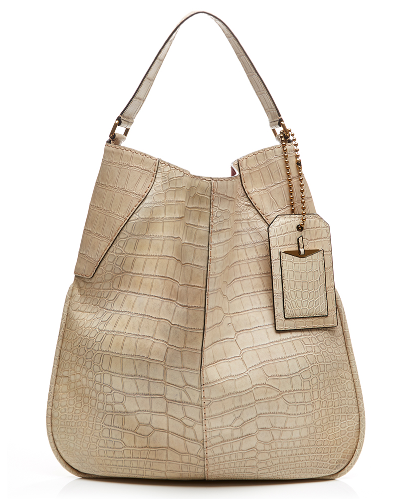 Marc Jacobs Surplus Plus Alligator Bag Ivory