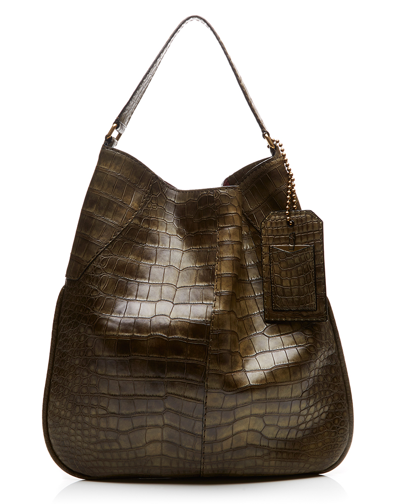 Marc Jacobs Surplus Plus Alligator Bag Olive